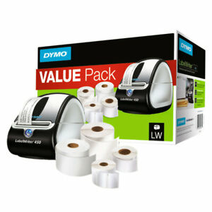 Dymo Labelwriter 450 Label Printer Bundle With Labels For Pc And Apple Mac