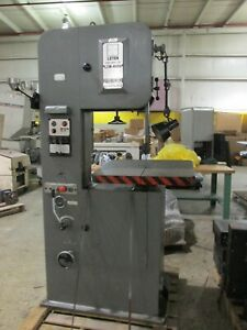 Leten Model Lcm400a Variable Speed Vertical Band Saw Mint Cond
