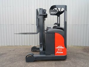 Linde R14s Used Electric Reach Forklift Truck 2572