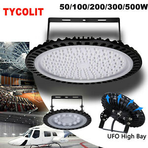 50 500w Ufo Led High Bay Light Gym Factory Warehouse Industrial Shed Lighting Us