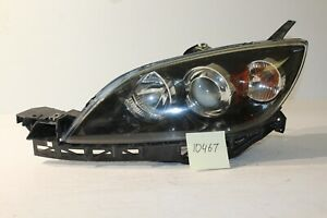 2004 2009 Mazda 3 Hatch Only Left Headlight Head Light Lamp Hid Xenon 10467