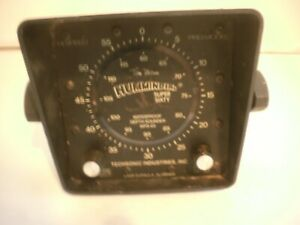 Vintage Humminbird Supersixty Waterproof Depth Sounder Display Unit WPS60