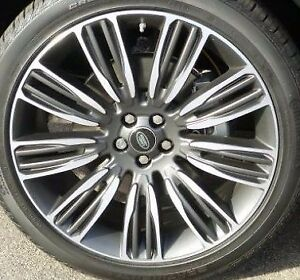 Range Rover Velar L560 Oem 22 X 9 9 Spoke Wheel Set Pincer Diamond Tl Satin