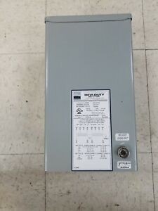 Egs Hevi duty Hs Hs12f3as Transformer Single Phase