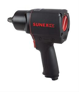 Sunex Impact Wrench Pneumatic 1 2 In Drive Each