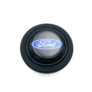 Horn Button Ford Oval Logo Plastic Black Blue Grant Signature Series Wheel