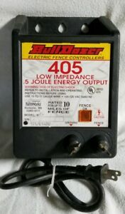 Bull Dozer Fence Charger Model 405 Solid State Electric Fencer