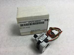 Agilent Hp 07673 60810 Turret Motor With Hub For 7673a And 7673b Injector Nib