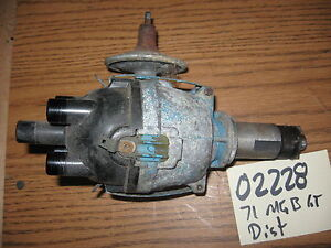 606 58024 Mgb Gt Ignition Distributor 4 Cyl 1971