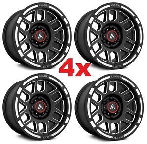 17 Black Wheels Rims Savana Express