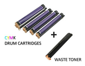 Xerox Workcentre 7855 7845 7835 7830 7556 7545 Drum Cartridges And Waste Toner