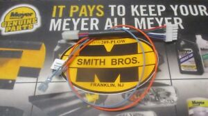 Meyer Plow Pistol Grip To Touchpad Harness Adpater