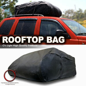 Outdoor Roof Top Rack Storage Rear Trunk Luggage Bag Cargo Carrier Fit Jeep