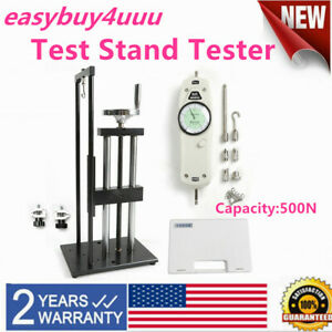 Test Stand Tester Kit For Push pull Force Gauge 500n 2 Way Vertical horizontal