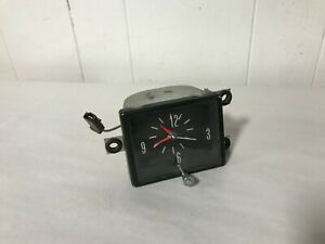 1969 1970 1971 1972 1973 Plymouth Fury Dash Clock 69 70 71 72 73