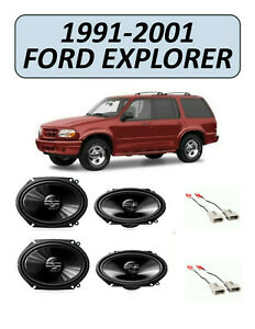 New For Ford Explorer 1991 2001 Factory Speakers Replacement Kit Pioneer