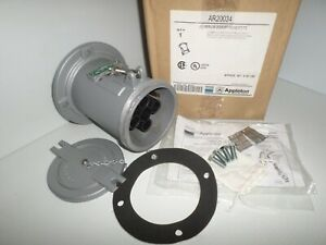 New In Box Appleton Ar20034 200 amp Pin sleeve Generator Receptacle 200a 3w 4p