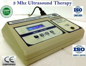 New Physical Therapy Ultrasound Therapy 3 Mhz Lcd Display Physiotherapy Machine