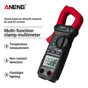 Aneng Digital Clamp Multimeter St209 6000 Counts Meter Ammeter Test Ac dc Zb