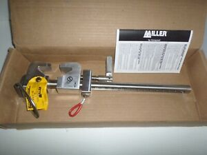 new In Box Miller Honeywell 8815 12 Fixed Shadow Beam Anchor Fall Protection