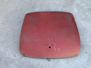Alfa Giulietta Spider 750 101 Trunk Minor Surface Rust