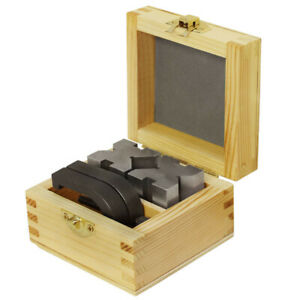 V block And Clamp Set Hardened Steel 90 Degree Angle 1 5 8 X 1 1 4 X 1 1 4