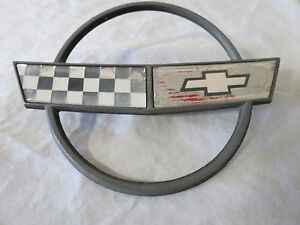84 96 Chevy Corvette C4 Front Nose Hood Emblem Logo Applique Sign Oem 10153649
