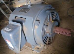 40 Hp Toshiba Electric Motor 1765 Rpm 364t Frame 230 460 Vac 3 Phase