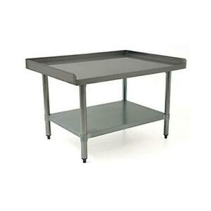 Eagle Group Blendport 36x30 18 Gauge Stainless Steel Equipment Stand
