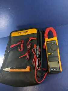 Fluke 381 Remote Display Trms Clamp Meter Excellent Screen Protector Soft