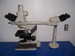 11261 Nikon Labophot 2 Dual Head Training Microscope