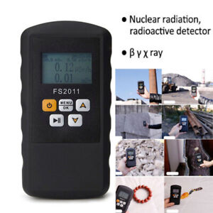 Nuclear Radiation Detector Beta Gamma X ray Monitor Geiger Counter Test Kit