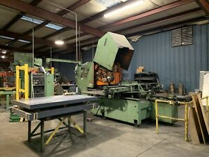 Strippit Model Fc 1250 Cnc Turret Punch Press With Houdaille Control