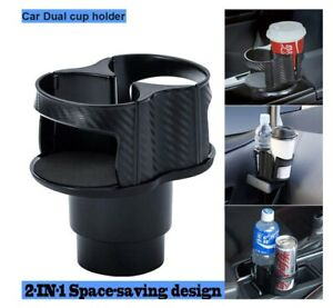 Universal Car Seat Cup 2 Holder Drink Beverage Coffee Truck Bottle Mount B331