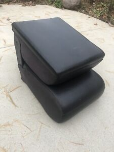 98 01 Ram Pickup Truck Factory Leather Front Center Jump Seat Interior Console