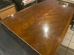 Executive Wooden Top Conference Table 6 Chairs 995 Newly Refurbished