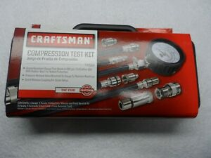 Craftsman 47089 Compression Test Kit With Case Auto Motorcycle Small Engine