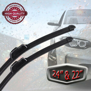 Windshield Wiper Blades Universal J hook oem Quality 2pack 24