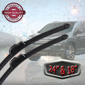 Windshield Wiper Blades Universal 2pack 24 18