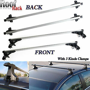 Car Top Luggage Cross Bar Roof Rack Skidproof 3 Kind Clamp For Chevy Silverado