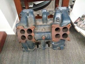 1955 Cadillac Intake 2 X 4 1463205 Dual Quad Two Four Barrel