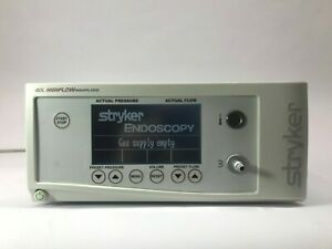 Stryker 620 040 504 40 Liter Core High Flow Insufflator With Low Flow Mode
