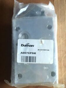 Daman Ad07cpsm Cover Plate Block 0614
