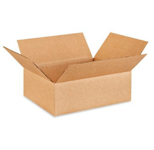 25 12x10x4 Cardboard Paper Boxes Mailing Packing Shipping Box Corrugated Carton