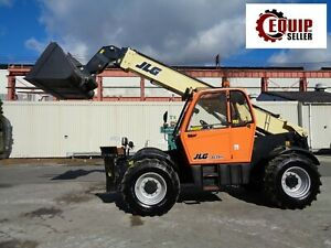 2016 Jlg 3614rs Telescopic Boom Forklift 4x4 Forks And Bucket Only 356 Hours