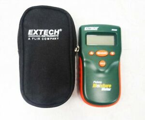 Extech Mo280 Pinless Moisture Meter With Bag Tested Working Good F s