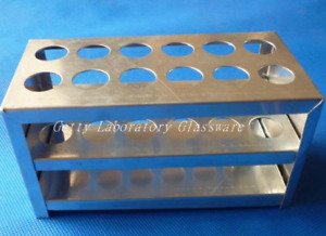 Test Tube Stainless Steel Stand holder 10holes
