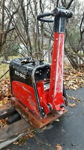 Weber Cr7 Ccd Hatz Diesel Powered Vibratory Reversible Trench Plate Compactor