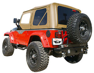 Complete Soft Top W hardware Spice W tint Windows 68517 97 06 For Jeep Wrangler