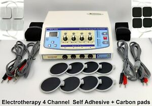 Electrotherapy Physical Therapy 4 Channel Pain Relief Physiotherapy Digital Unit